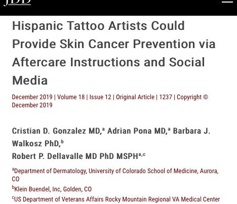 Hispanic Skin Cancer Prevention