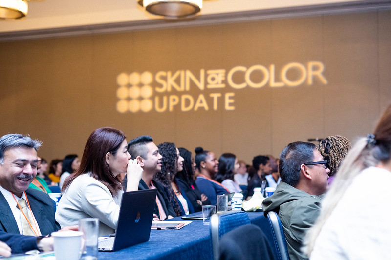 Skin of Color Update audience