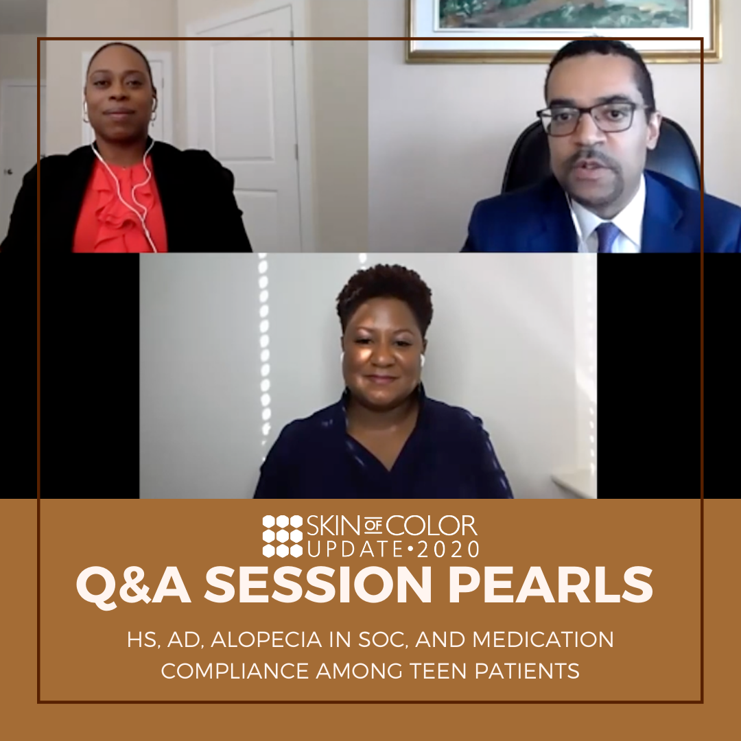 Skin of Color Update Q&A Session Pearls